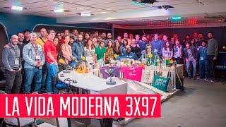 La Vida Moderna 3x97...es taparte la boca cuando vas a estornudar haciendo un dab