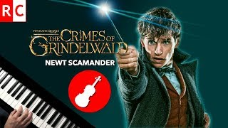 Newt's Theme (Violin + Piano Cover) Fantastic Beasts: Crimes of Grindelwald