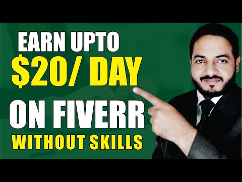 Earn upto $20 Daily on Fiverr With Proof 100% Copy Paste Work without any Skills