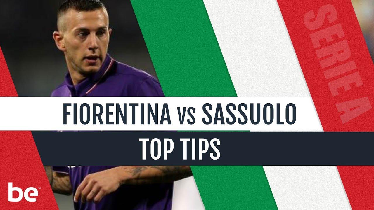 Sassuolo vs fiorentina betting expert australian harness racing betting strategies