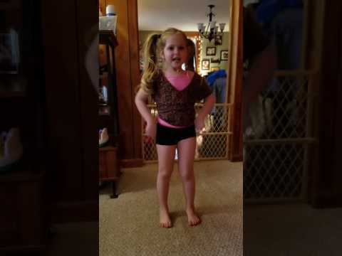 doing the popsicle dance