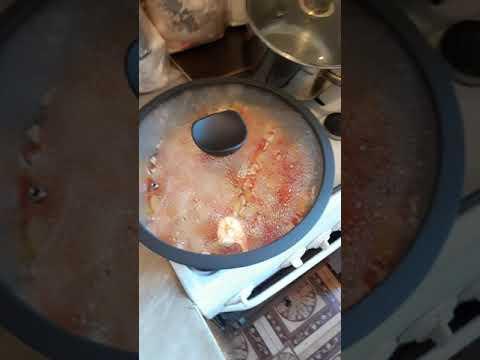 Омлет и сковорода от магнит!