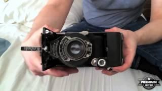 Eastman Kodak No.1A Pocket Kodak Folding Autographic Camera Mechanism