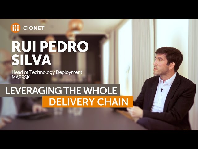 Rui Pedro Silva, Maersk – Leveraging the whole delivery chain for ecommerce