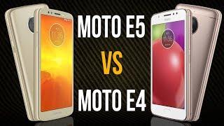 Moto E5 vs Moto E4 (Comparativo em 2 minutos)
