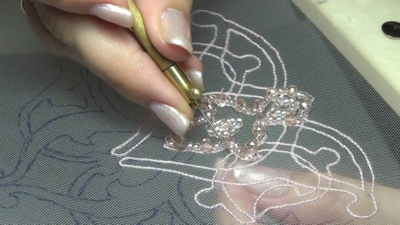 Уроки люневильская вышивка крючком