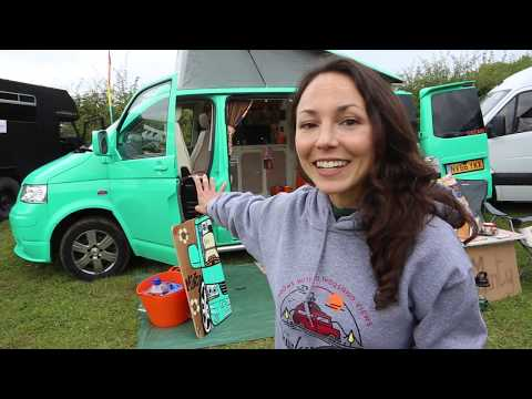 Tour of Custom Handmade Campervans at CAMP QUIRKY 2017