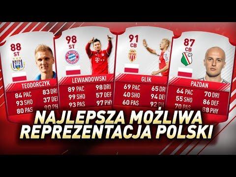 FIFA 17 - Najpotężniejszy skład Polski w historii Ultimate Team!