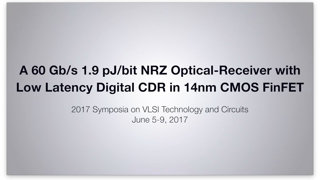 Ibm Research Zurich Careers Simpletouchtonesuptmsupgenerator Signalprocessing Circuit Scientists Achieve 60 Gb S With Optical Receiver In A 14nm Cmos Finfet