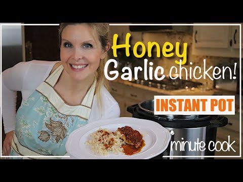 Honey Garlic Chicken Instant Pot| Easy And QUICK