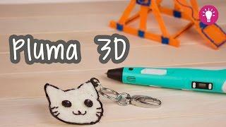 ¿Dibujar en 3D? ¡Pluma Impresora 3D! - 3D Printing Pen | Catwalk