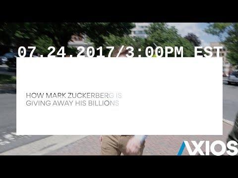How Mark Zuckerberg is Giving Away His Billions