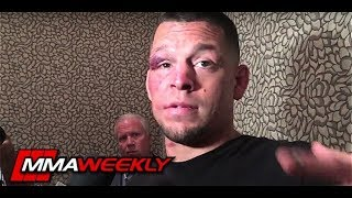 Nate Diaz Altercation With Renato Laranja At The World Jiu-Jitsu Expo