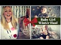 Baby Girl Winter Haul | Vintage Prints from the High Street | SJ STRUM