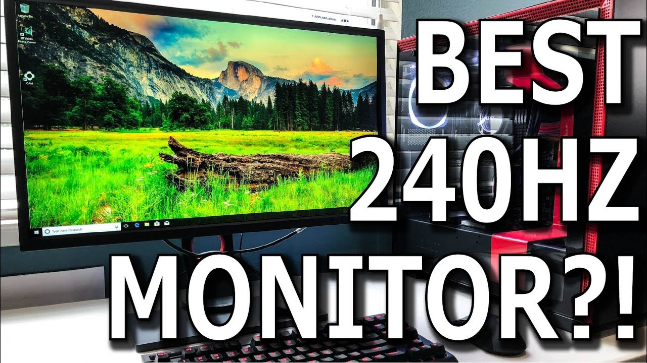 Zowie XL2546 Review - Best 240 Hz DyAc Gaming Monitor