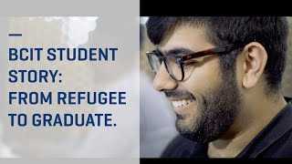 From refugee to BCIT: Moshtagh Mohammadi shares his journey thumbnail
