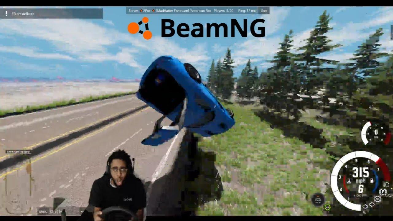 Multiplayer on BeamNG??? lmaoo Pt. 2