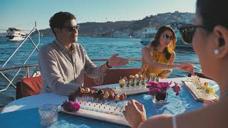 Luxury Bosphorus Tour with Champagne and Lobster