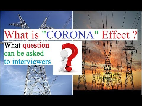 what is corona effect ?  what question asked interviewers? (Bangla)