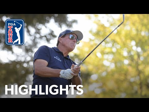 Phil Mickelson shoots 3-under 69 | Round 2 | Fortinet | 2021