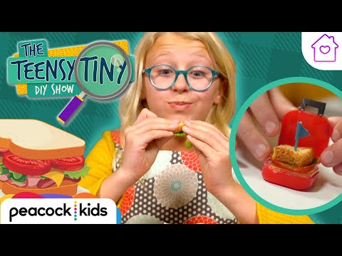 World's Tiniest Sandwich DIY  Kids Crafts at Home  TEENSY TINY DIY SHOW stayhome withme
