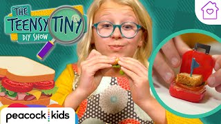 Worlds Tiniest Sandwich DIY | Kids Crafts at Home | TEENSY TINY DIY SHOW #stayhome #withme