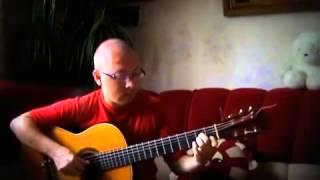 """Спокойная мелодия из фильма """"Мираж"""" на гитаре"""