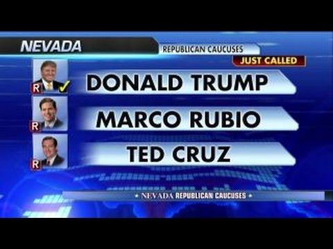 Donald Trump wins the Nevada caucuses