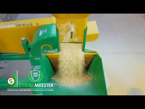 JF 2D Hammer Mill On Maize (part 2)