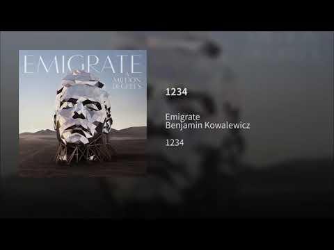 Emigrate - 1234 feat. Benjamin Kowalewicz (Official Audio)