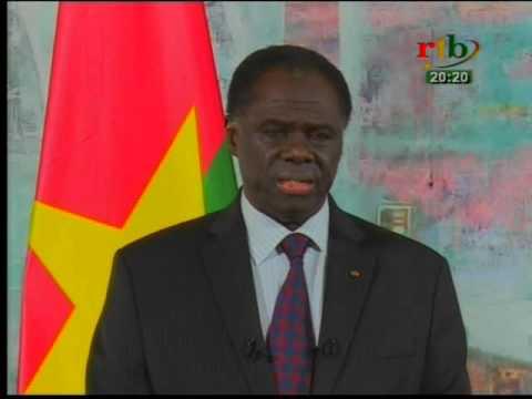 RTB - Dernier message du chef de l'Etat, Michel KAFANDO à la nation