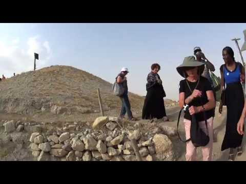 Jericho - the story of the ancient walls of Jericho from the time of Joshua. Tour Guide: Zahi Shaked