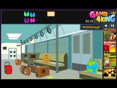 G4K Girl Escape From Train Game Walkthrough - YouTube