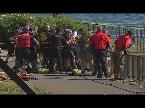 Two men drown in Niagara River at Foot of Ferry
