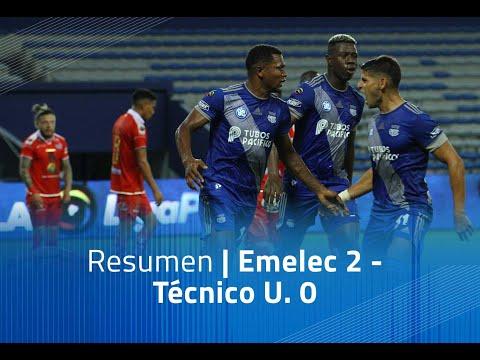Emelec Tecnico U. Goals And Highlights
