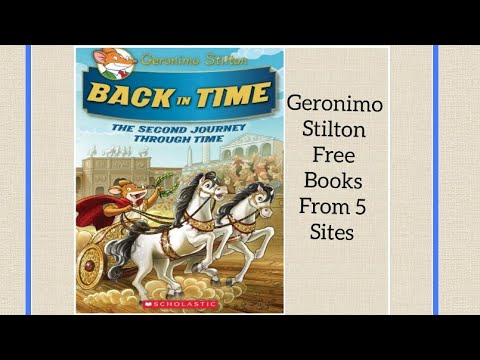 How To Download Geronimo Stilton Free PDF From 5  Sites