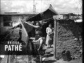Jews Leave British Detention Camp For Palestine AKA Jewish Refugees In Detention Camp (1940)