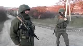 Разговор Крымского Татарина и Зеленого Человечка из РФ Крым 13 03 14