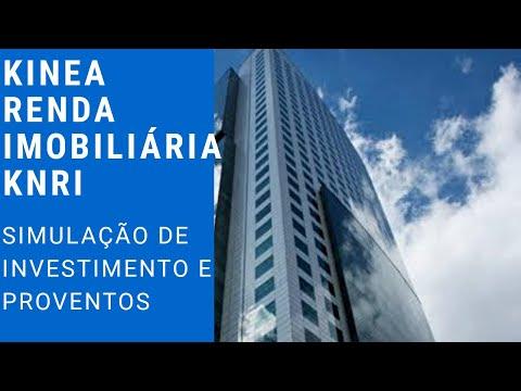 Simulação de Investimento e Proventos - Fundo de Investimento Imobiliário KNRI (KNRI11 - FII)