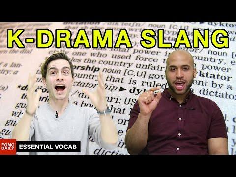 K-Drama Slang • Essential Vocab