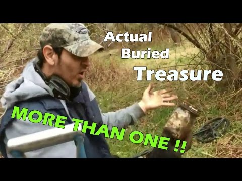 Still Shaking! - Actual buried treasure found Metal Detecting! Time Capsule? Witch Jar?