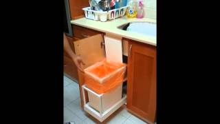 Automatic Kitchen Trash Can - Ikea Hack