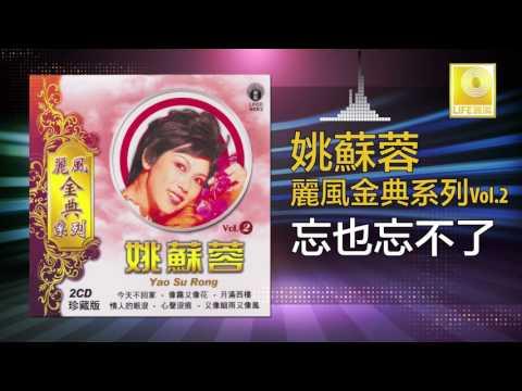 姚苏蓉 Yao Su Rong - 忘也忘不了 Wang Ye Wang Bu Liao (Original Music Audio)