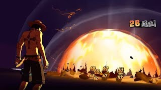 One Piece : Burning Will - 30 lv Arena test - Android/Ios gameplay