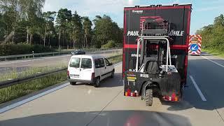 Długi ładunek. Szukanie miejsca na parkingu. Cofanie po łuku. Monolog BARTASS-a cz.176