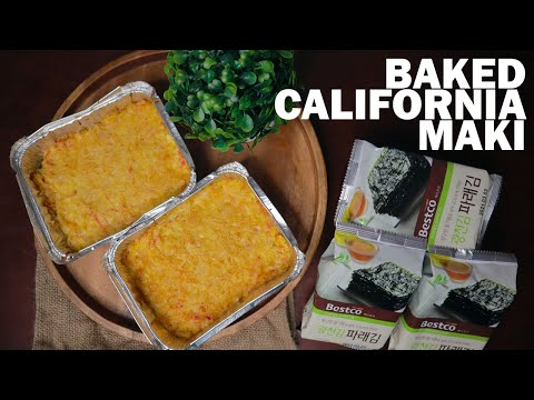 BAKED CALIFORNIA MAKI