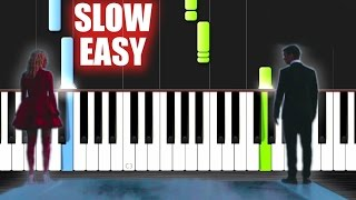 Martin Garrix & Bebe Rexha - In The Name Of Love - SLOW EASY Piano Tutorial by PlutaX