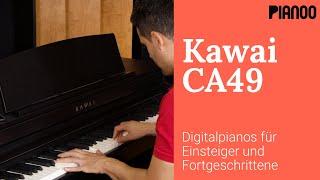 E-Piano-Test: Kawai CA49 Digitalpiano mit Holztastatur