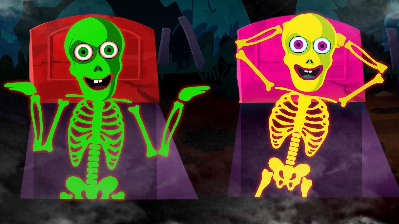 Pueblo Teehee Tumbas De Colores Con Esqueletos Canciones Para Aprender Con Len Y Mini Youtube