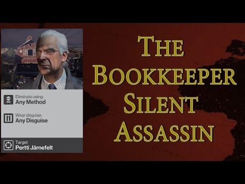 Hitman - Elusive Target #22 The Bookkeeper | Silent Assassin